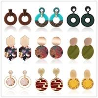 statement earrings korean earrings vintage fashion earrings for women 2019 indian jewelry kpop accessories for wedding gifts