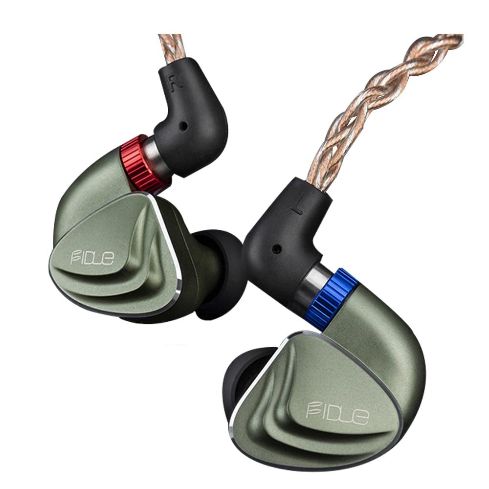 فيدو سيريوس MKII داخل الأذن السلكية HiFi مراقب سماعات الأذن خط نوع انفصال 2.5 مللي متر موصلات التكنولوجيا الهجين للهاتف المحمول