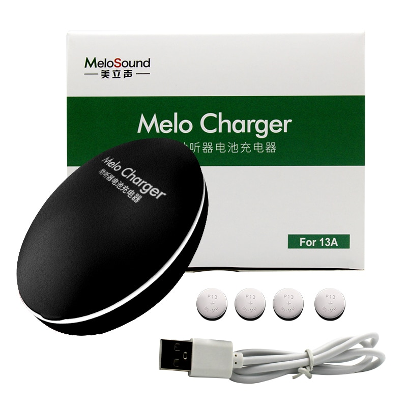 Hearing Aid Rechargeable Battery Batteries A13 13 13A P13 PR48 for BTE Hearing Aids Sound Amplifiers