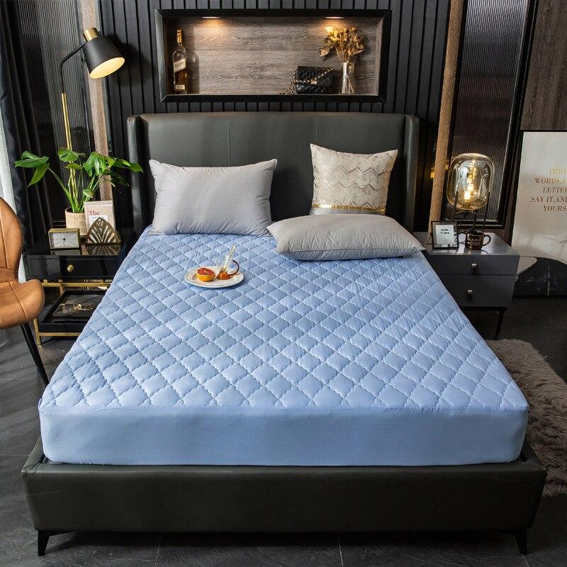 غطاء فراش مقاوم للماء غطاء سرير المجهزة فراش توبر سرير واحد مزدوج الملك الحجم وسادة غطاء حامي الغطاء