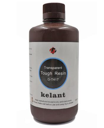 Kelant 405nm UV Resin For S400 D100 Photon 3D Printer Printing Material LCD casting model toughness 500ml Liquid Bottle Gadget