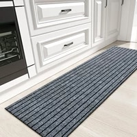 colorgeometry kitchen mat high quality anti slip pvc backing carpet for kitchen floor easy to clean rug for home office laundry