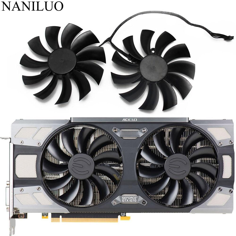 PLD10015B12H 12V 0.55A 95mm GTX1080 1070 TI ACX 3.0 עבור EVGA GeForce GTX 1080 1070 1070Ti FTW2 משחקים ICX גרפיקה כרטיס Coolin