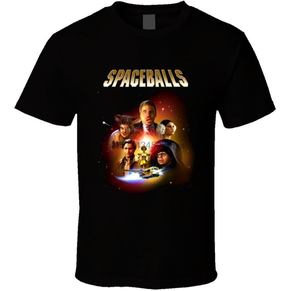 Camiseta do poster do spaceballs