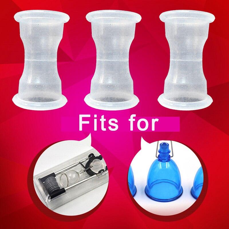 Mangas para prolongar la bomba del pene, extensor de la bomba del pene, accesorios para el pene, taza de vacío, Juguetes sexuales para hombres