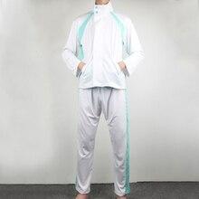 ¡Anime tee! Oikawa Tooru Cosplay abrigo traje Aoba Johsai uniforme de escuela secundaria voleibol Club chaqueta ropa