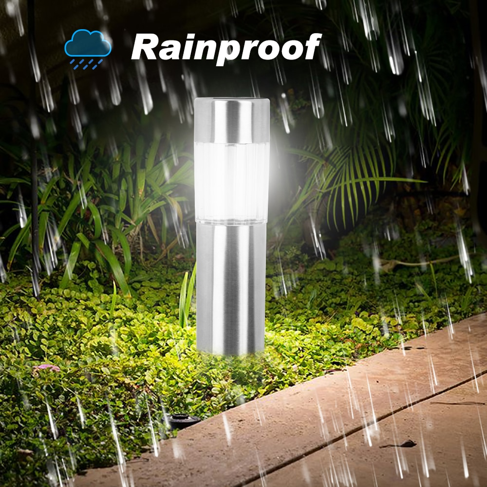 2020 Водонепроницаемая светодиодная лампа для лужайки на солнечной батарее, напольный декоративный садовый светильник для ландшафтного пат...