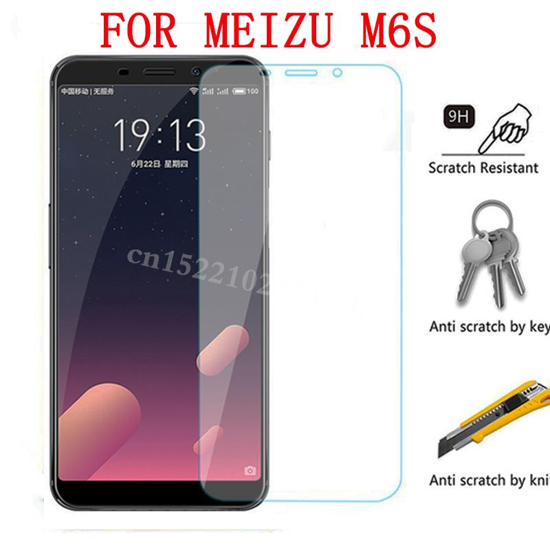 Tempered Glass on the For MeizuE3 M6 M6S Screen Protector Protective Glass Film Case