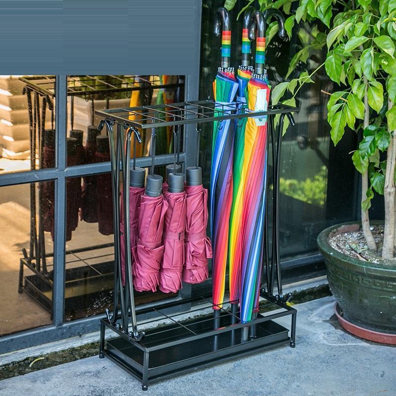 Decorativos Sujeta Soporte De Paraguas Stand Metal Casa Rack Portaombrelli Porte Parapluie Porta Ombrelli Umbrella Holder enlarge