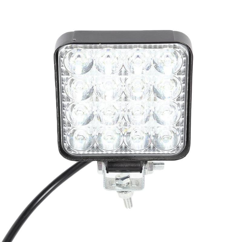 Светодиодный светильник 2880LM 6500K IP67, водонепроницаемый, высокая яркость, долгий срок службы, супер энергосберегающий, для автомобиля, грузовика, мини, противотуманная фара, белый светильник