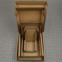 Corrugated Paper Boxes Packaging Gift Box Accept Customized Size And Logo Shipping Package