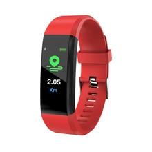 SHAOLIN Women Men Smart Bracelet Sports Watch Wristband Blood Pressure Monitoring Heart Rate Monitor