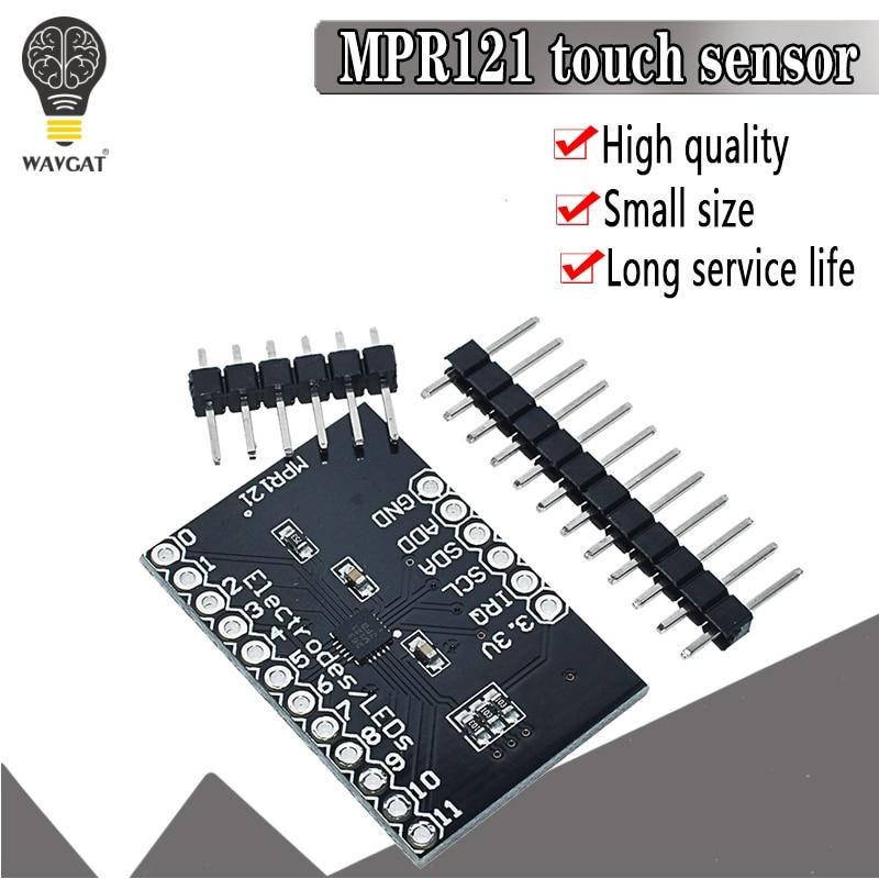 MPR121 Breakout V12 Capacitive Touch Sensor Controller Module I2C Interface keyboard Development Board for arduino