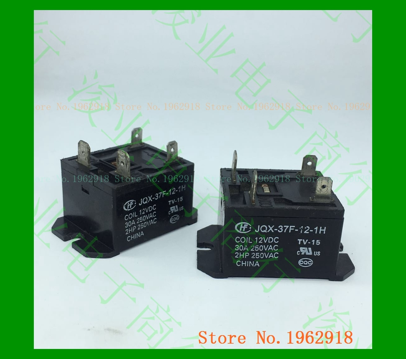 JQX-37F-12-1H 12VDC O velho 30A 12V 4