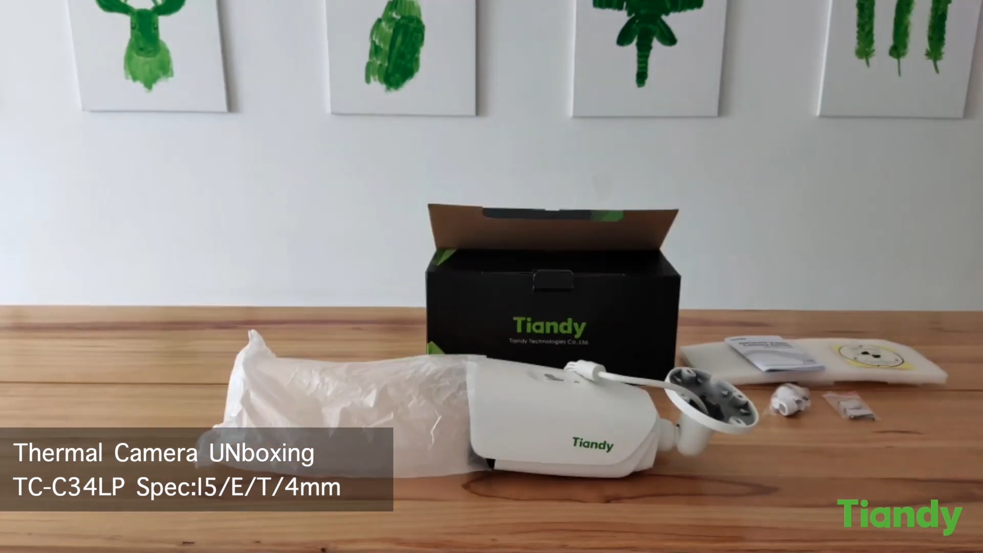 Tiandy-كاميرا 12 ميجابكسل IR ، كشف الحركة ، تصنيف المركبات ، 4K