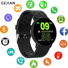 GEJIAN nouvelle montre intelligente Android étanche sport hommes et femmes smartwatch caméra à distance fréquence cardiaque pression artérielle montre-bracelet