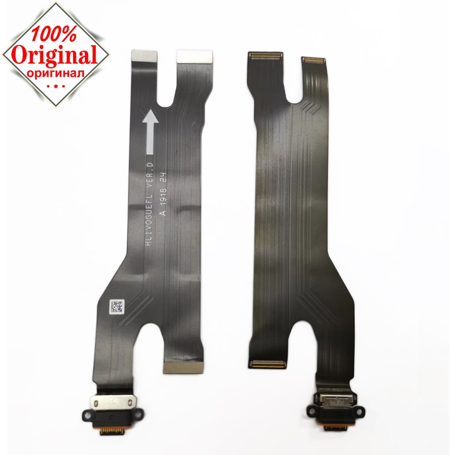 100% Original puerto de carga USB cable flexible para Huawei P30 pro Conexión del cargador del enchufe del USB con el reemplazo del cable de la placa base