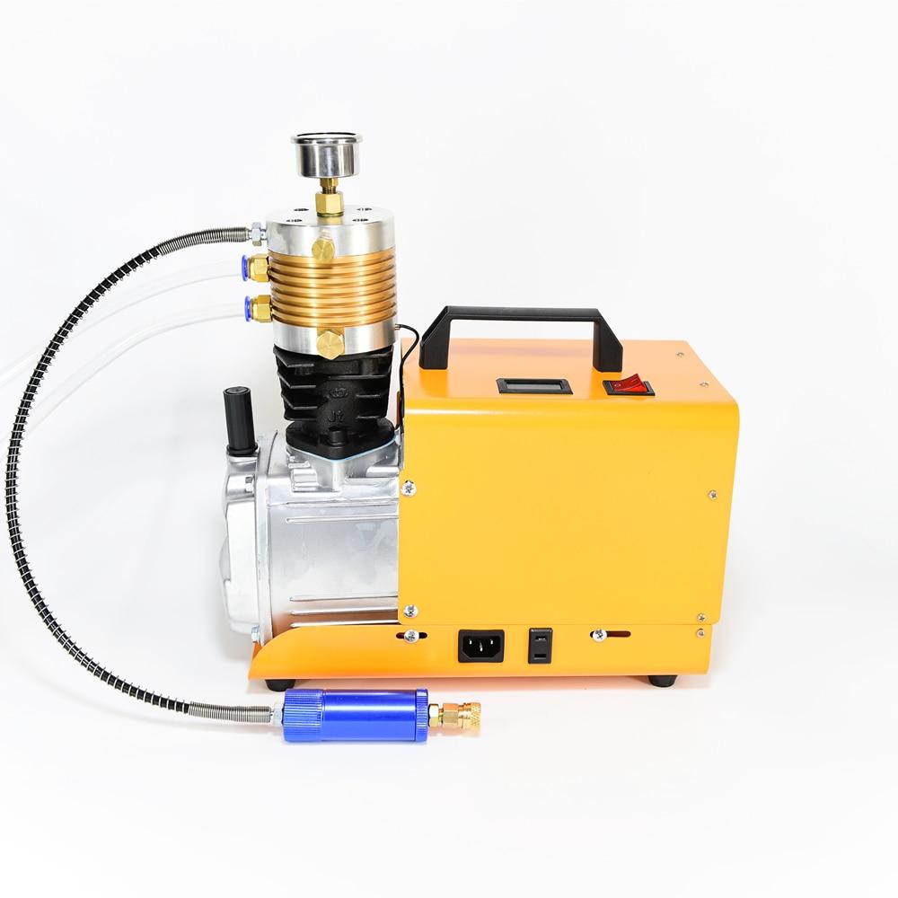 Acecare PCP 300Bar الأصفر 220 فولت ضاغط الهواء مضخة HPA ل خزان سكوبا الكربون أسطوانة من الألياف الألوان Airsoft/Airgun/سلاح الجو