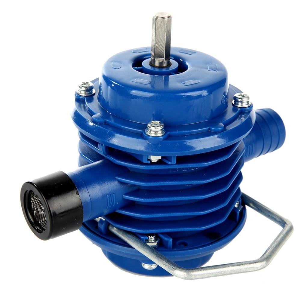Bomba de agua de taladro eléctrico manual de autocebado de alta resistencia Micro sumergibles Motor Ultra bomba centrífuga de jardín en casa