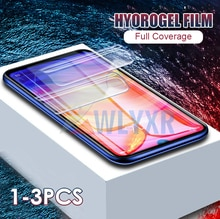 1-3 шт 99D настоящая Гидрогелевая пленка для Xiao mi Red mi Note 8 7 7A 6 5 Plus Pro мягкая пленка для Xiao mi Red mi K20 Pro mi 9 SE 9T