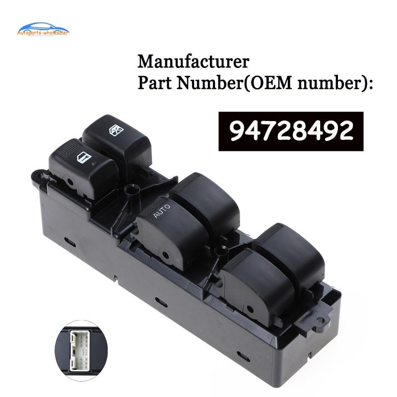 Carro Auto acessórios de 94728492 Apto Para Chevrolet GMC S10 Novo Interruptor de Controle Mestre Janela de Energia Elétrica