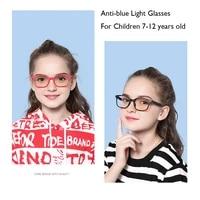 anti blue light student reading glasses for child boy girl computer gaming glasses myopia blue light blocking lense glasses