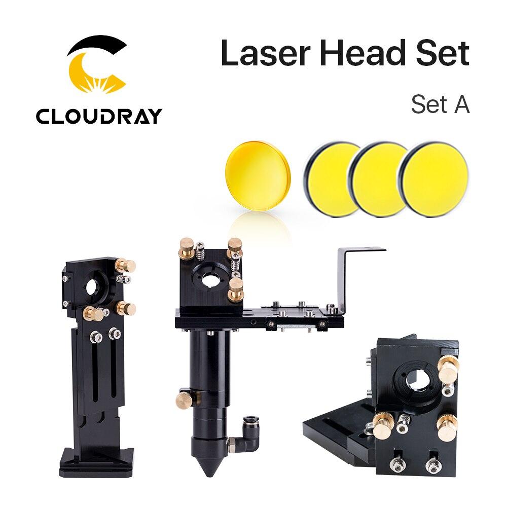 AliExpress - Cloudray E Series: CO2 Laser Head Set + 1 Pcs Focusing Lens + 3 Pcs Si / Mo Mirrors for Engraver Cutting Machine Parts