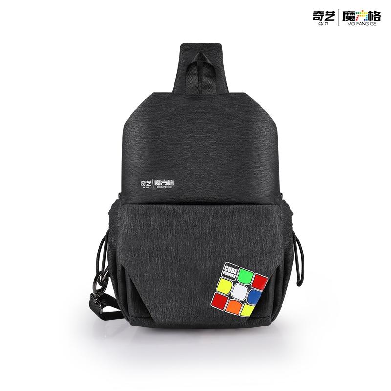 Qiyi Cube рюкзак, сумка на плечо, нагрудная сумка для 2x2 3x3x3 4x4 5x5 6x6 7x7 8x8 9x9 10x10 Magic Puzzle сумки для переноски скоростного Куба