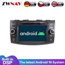 Android 10 8 Core PX5/6 4 + 64GB GPS Navigation IPS écran pour Suzuki Swift 2011 2012 2013 2014 2015 2016 voiture DVD Playe Radio