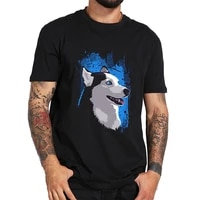 husky stain cotton tshirt authentic t shirt unisex fashion t shirts top tee