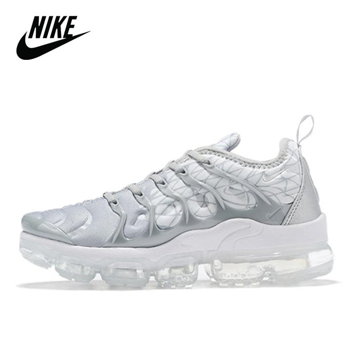 Original Nike Air Max Vapormax Plus TN Vascular atmósfera cojín de los hombres zapatos para correr con colchón de aire tamaño 40-46 924453-143
