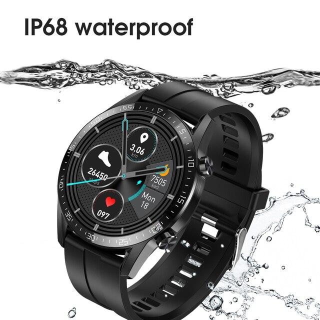 Ipbzhe Smart Watch Men 2021 Android IP68 ECG Smartwatch Men Sports Reloj Inteligente Smart Watch For Phone Iphone Android Huawei 8