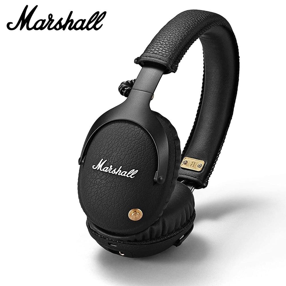 Marshall-auriculares inalámbricos con Bluetooth, originales, 100%, Rock, con aislamiento de ruido, graves...