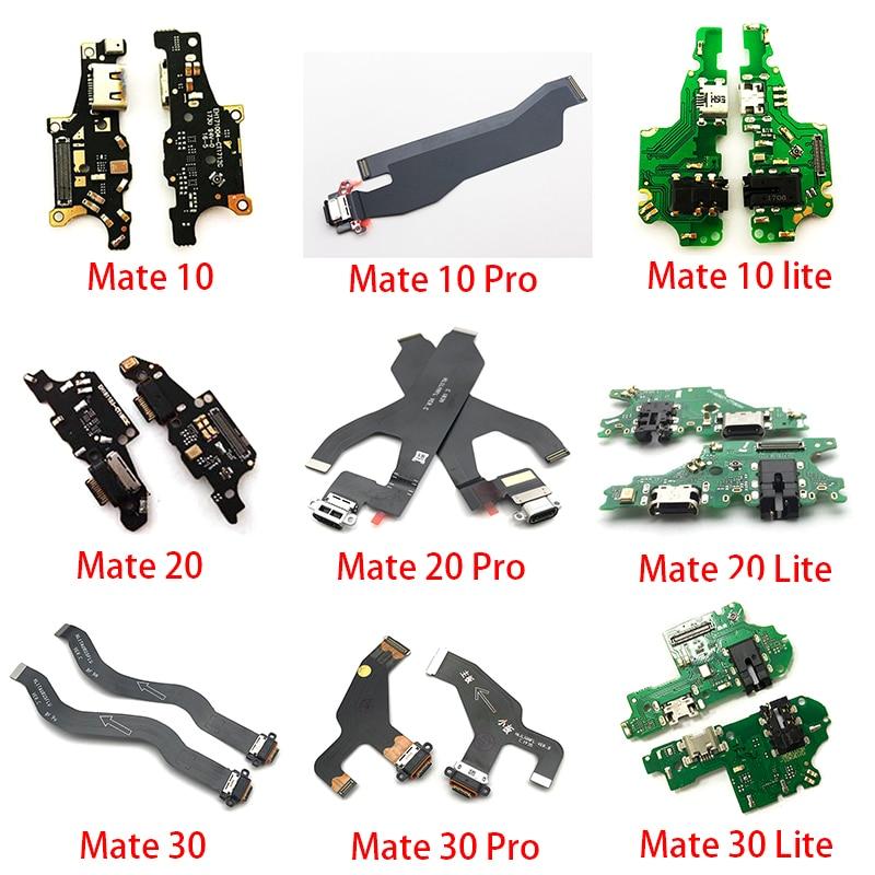 Cargador USB puerto de carga conector Flex Cable para Huawei Mate S 7 8 9 10 20 Pro 30 Lite 20X