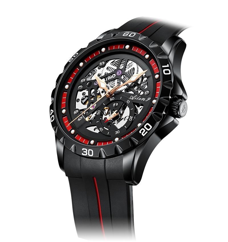 AILANG 2021 new watch men's mechanical watch automatic black technology luminous new fashion men's watch enlarge