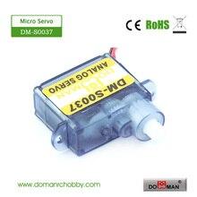 50 unids/lote DM-S0037 3,7g digital micro rc servo