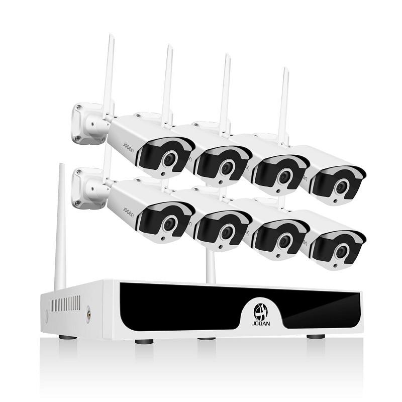 8CH NVR Wireless CCTV System 1080P 1TB 2TB 2MP NVR IP IR-CUT Outdoor CCTV Camera IP Security System Video Surveillance Kit H.265