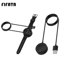 fifata 1m usb fast charging magnetic charger base for garmin fenix 5 5s 5x 6 6s 6x vivoactive 3 forerunner 245 245m smart watch