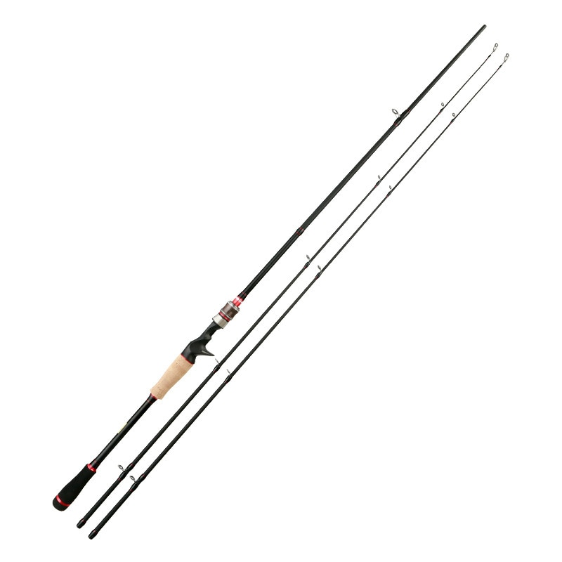 1.8  Lure Rod 2 Section Carbon Spinning Fishing Rod Casting Fishing Pole Saltwater Rod Spinning enlarge