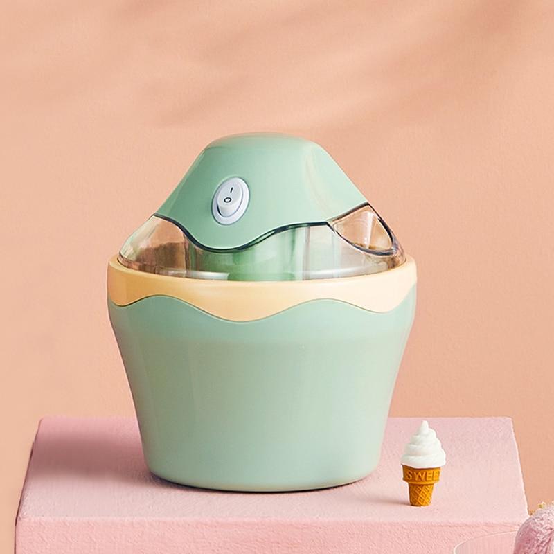 آلة الآيس كريم صانع الحلوى التلقائي آلة صنع أيس كريم المنزلية لتقوم بها بنفسك Sorbet Sorbetières 500 مللي نظام التبريد الثلاثي