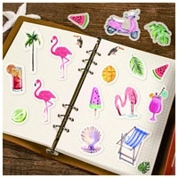 cute washi sticker packs scrapbooking material stationery notebooks stickers for diary korean kawaii stickers bullet journal