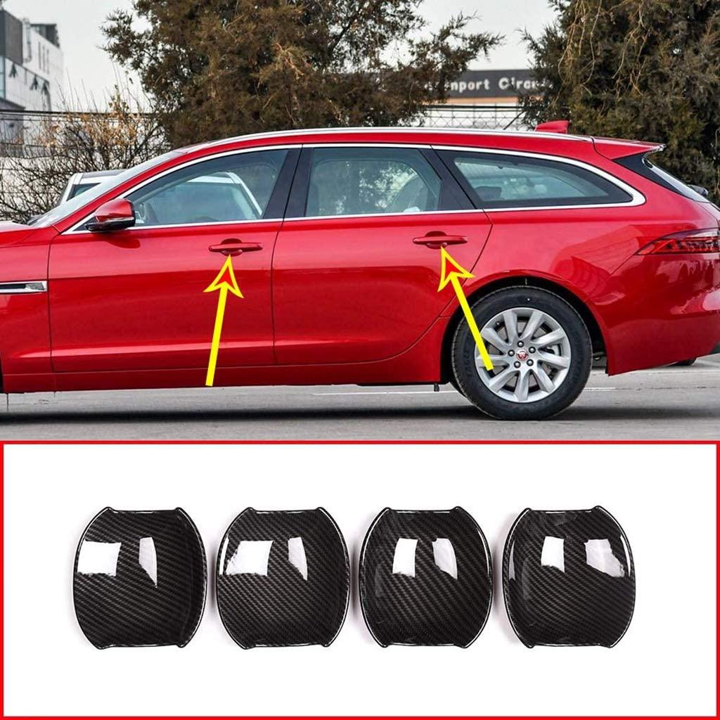 Защитная пленка для двери Jaguar XE XF XFL, внешняя/внешняя ручка, защита от царапин