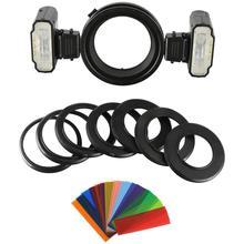 Kit Flash double Macro synchronisation haute vitesse TTL MEIKE MK-MT24 Flash Flash caméra Flash professionnel