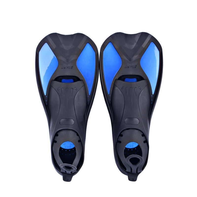 Aletas de natación ajustables para deportes acuáticos al aire libre de 3 colores aletas de buceo equipo de entrenamiento para piscina