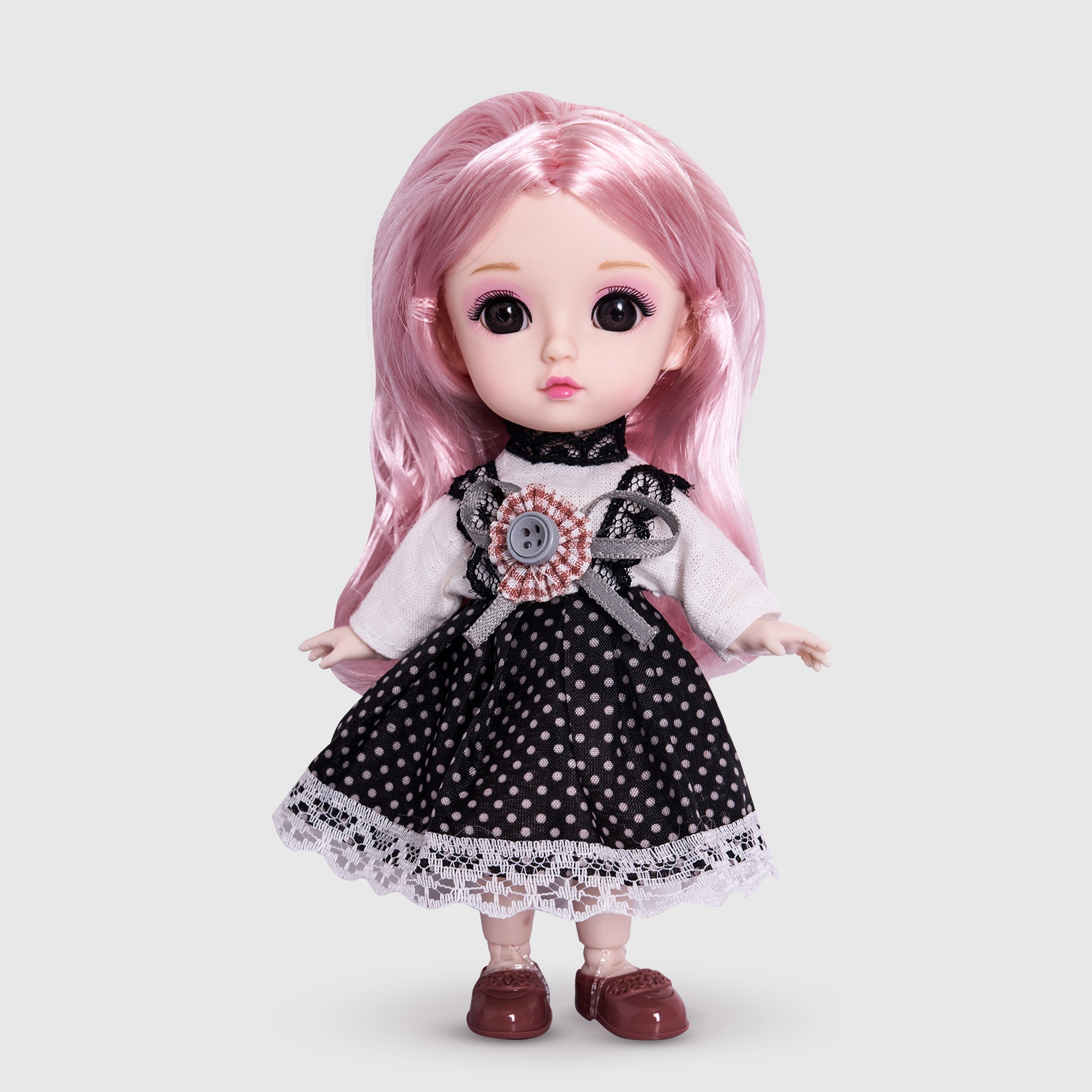 The Best Gift for Children LOFEA 6-inch Dress-up Doll Dolls and Girls Birthday Princess Gifts