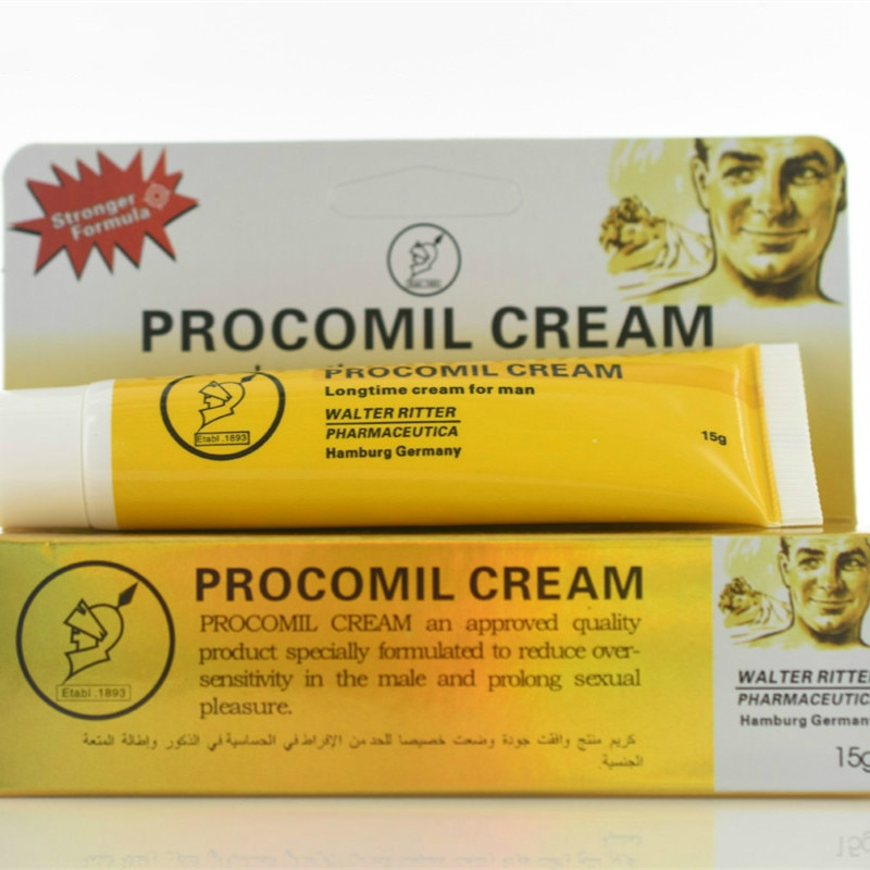 15ml Enlargement Cream Man Lasting Erection Sex Products Procomil Cream Keep Long Time Cream Extenal 15ML Men Delay Cream