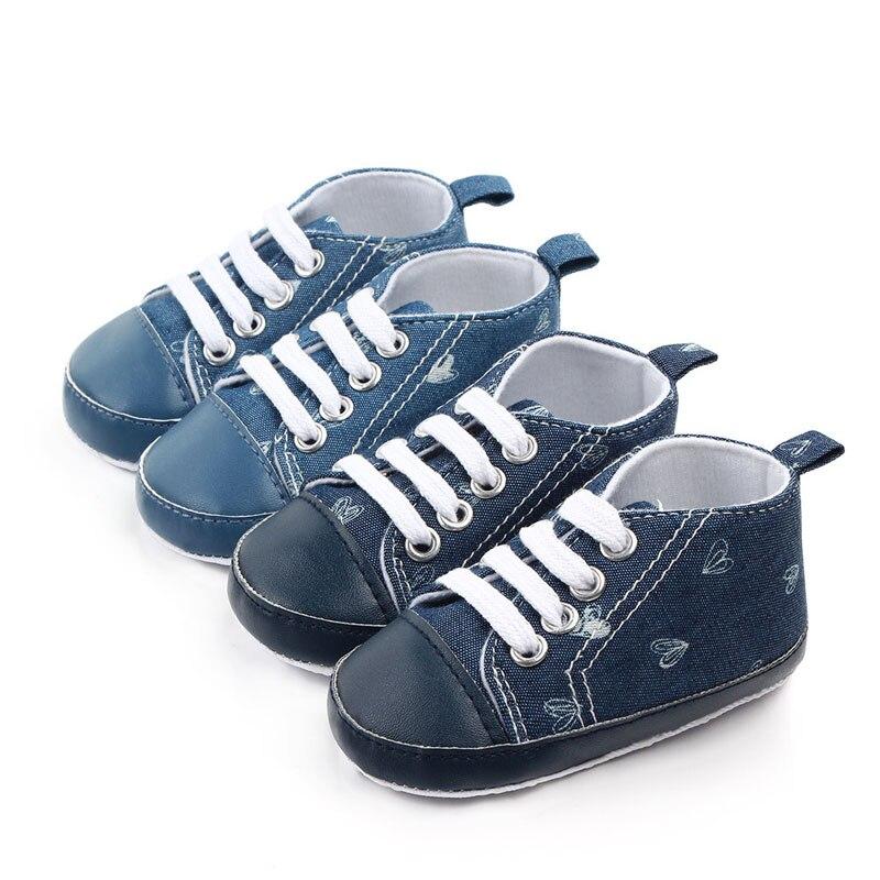 Suela antideslizante blanda zapatos de bebé niño zapatos de bebé para niña Primeros pasos gran oferta 0-18M zapatos de bebé