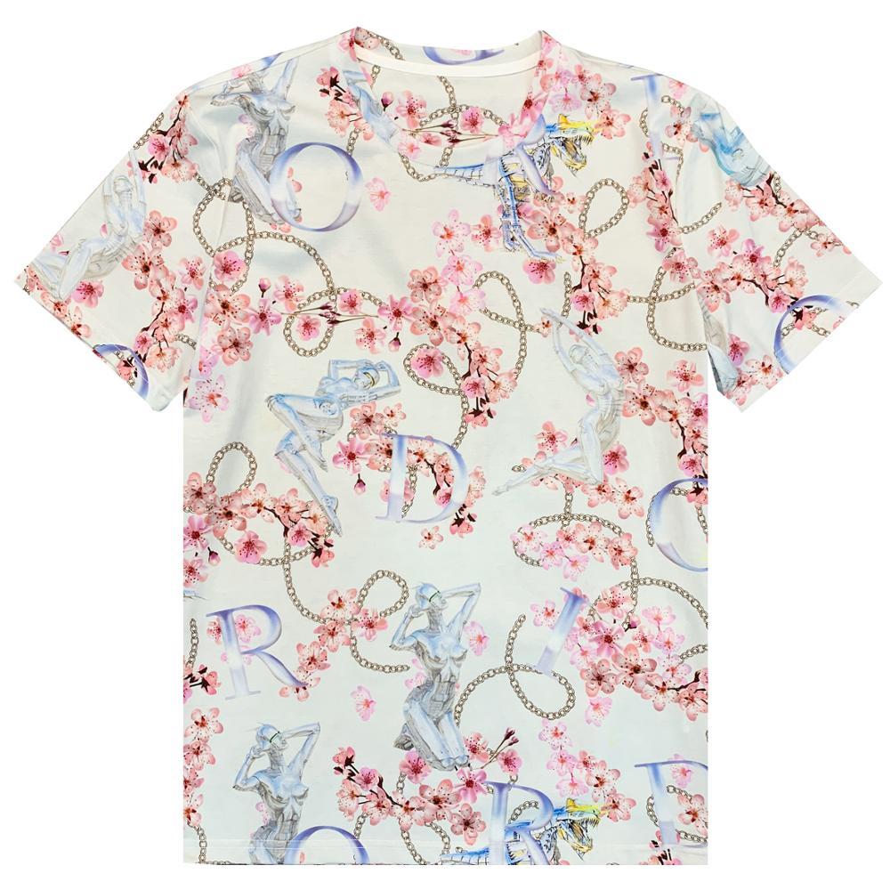 2020 nueva colección de verano para hombres camiseta TOP eden park marca francesa algodón mercerizado estilo de alta calidad impresión especial