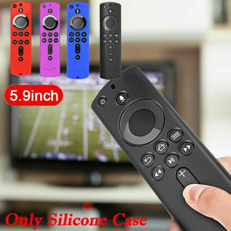 For Amazon Fire TV Stick Remote Controller Silicone Case Wearable Devices Protective Shockproof Cover Skin Smart Accessories