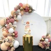 morandi color balloon chain set birthday party wedding new year decoration supplies macaron ballon combination
